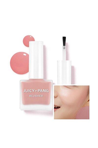 Doğal Görünüm Sunan Nemlendirici Likit Allık 9g. APIEU Juicy-Pang Water Blusher (PK03)