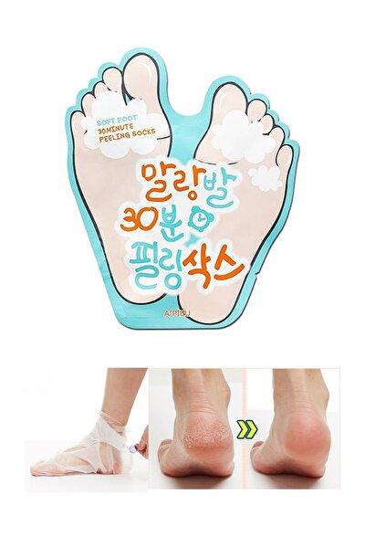 Ölü Derilerden Arındıran Ayak Maskesi 40ml APIEU Soft Foot Peeling Socks