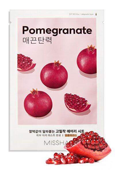 Yaşlanma Karşıtı Nar Özlü  Yaprak Maske (1ad) Airy Fit Sheet Mask Pomegranate