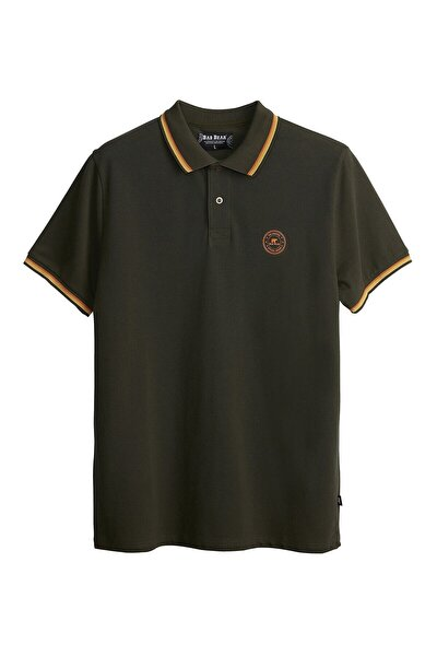 Erkek Haki Groove Polo Khakı T-shirt