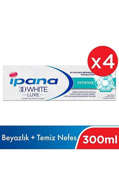 Ipana 3 Boyutlu Beyazlık Luxe Diş Macunu Intense 4*75 Ml