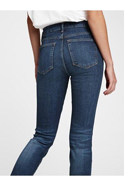 Mid Rise True Skinny Jean Pantolon