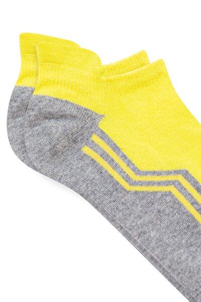 Erkek Sarı Patik Çorap 092564-33200