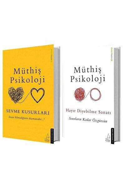 Sevme Kusurları + Hayır Diyebilme Sanatı - Müthiş Psikoloji 2 Kitap Set