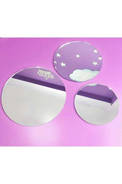 3 Lü Set Ayna 30x30-25x25-20x20 Cm
