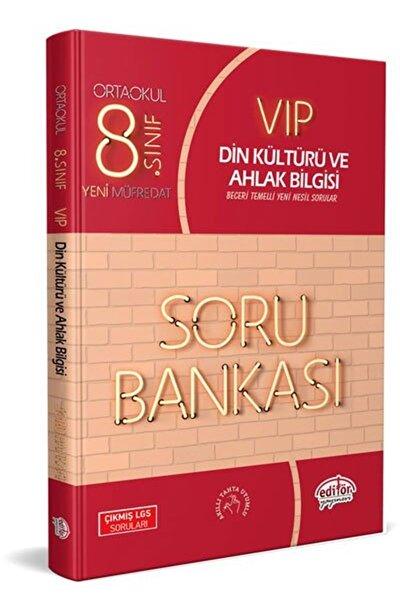 Editör 8. Sınıf Vip Din Kültürü Soru Bankası