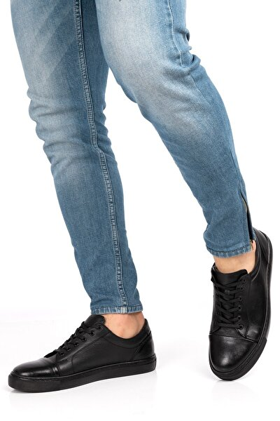 Erkek Siyah Hakiki Deri 5 Renk Loafer Ayakkabı