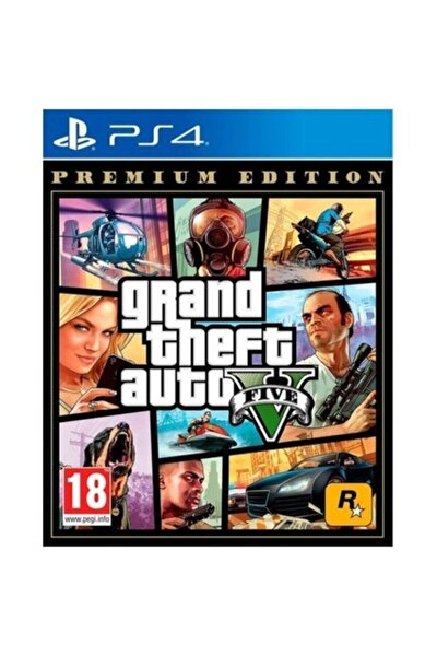 Gta 5 Gta V Ps4 Oyun