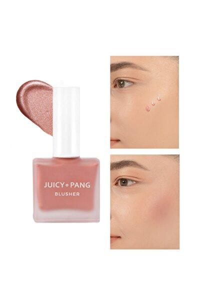Işıltılı Gül Kurusu Likit Allık – Parlak Görünümlü Apieu Juicy Pang Blusher Rose Dust (SPK01)
