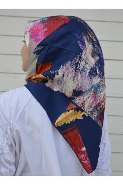 Kadın Pembe Tivil Ipek Eşarp