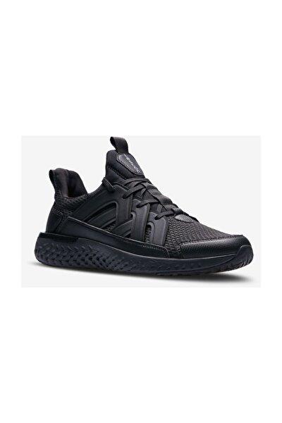 Erkek Siyah Hellium Spike Sneaker Spor Ayakkabı Rahat