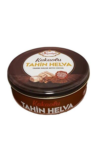 Hediyelik Kakaolu Tahin Helvası Teneke Kutu 1500 gr