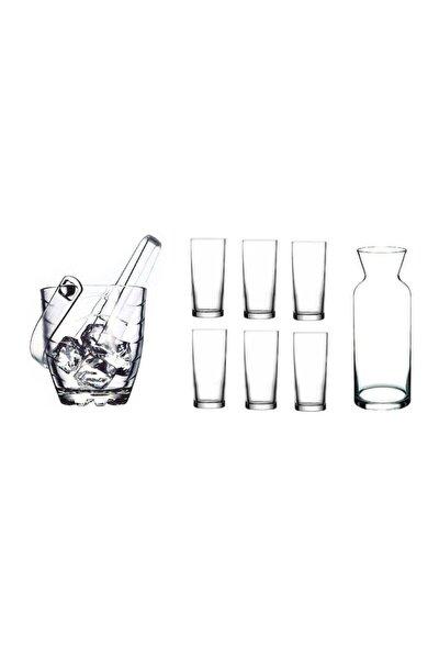Rakı Bardak Ve 9 Prç. Rakı Bardağı Ve Buz Kovası Seti