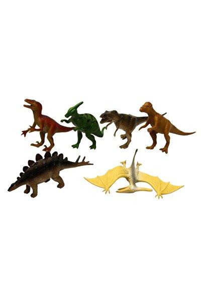 Oyuncak Dinozor Hayvan Seti 6 Parça 13 cm Dinazor