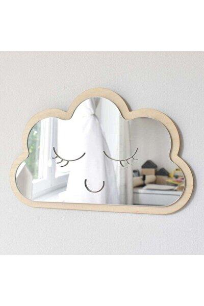 Bulut Ayna Çocuk Odası Dekoru Güvenli Kırılmaz Ayna