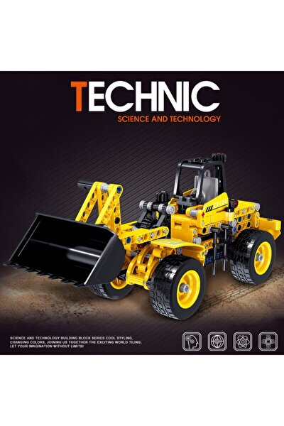 Technıc Kepçe Inşaat Iş Makinesi 322 Parça Oyuncak