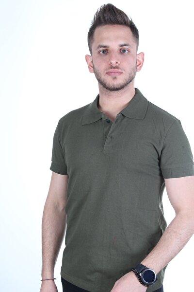 Erkek Yeşil Polo Yaka T-shirt Medmod