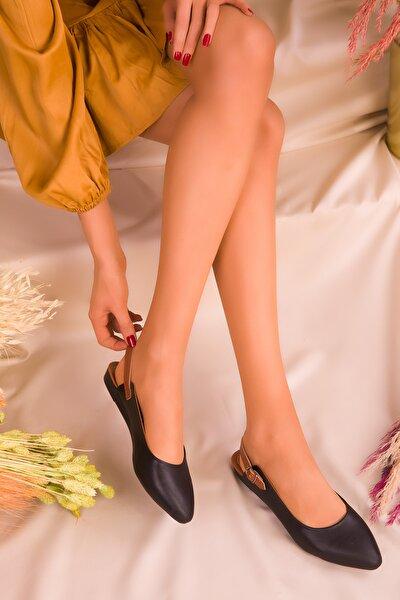 Siyah Kadın Sandalet 16216