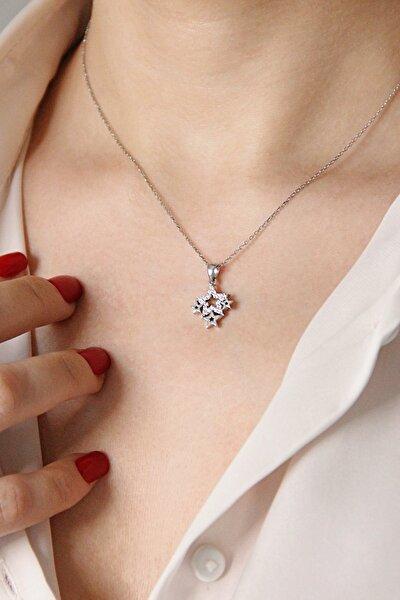 Gümüş Samanyolu Kolye - N051701