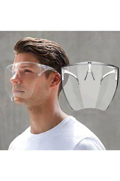 Yarım Yüz Koruma Maskesi Yıkanabilir Şeffaf Maske