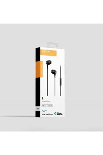 Pop Kulaklık Mikrofonlu Kulak Içi Kablolu 3.5mm