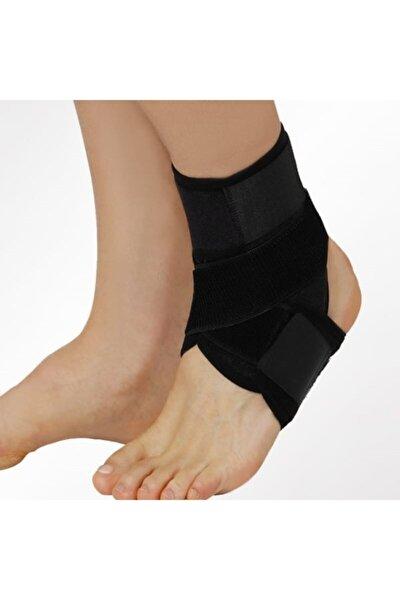 Unisex Çapraz Bandajlı Ayak Bilekliği 8 Bandaj