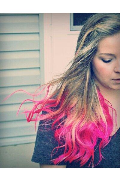 Kadın Pembe Renk Saç Tebeşiri