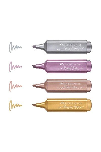 Metalik Işaretleme Kalemi 4 Renk Set