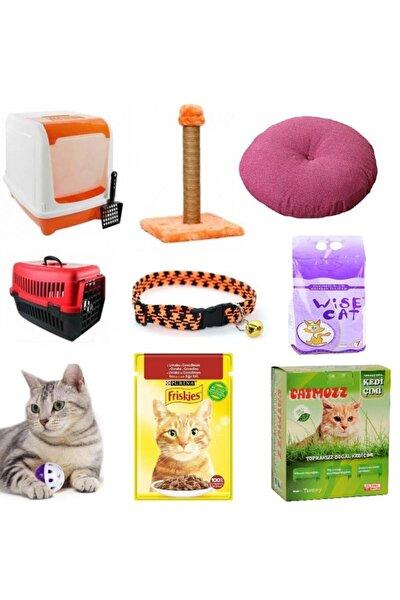 Plus Kedi Başlangıç 10 Parça Bakım Seti