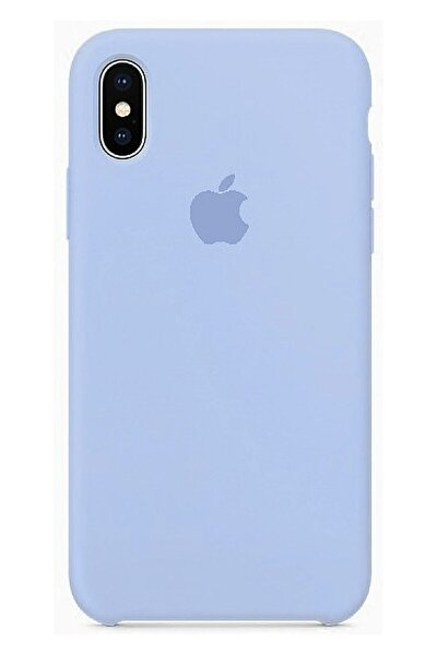 Apple Iphone X Lila Silikon Kılıf
