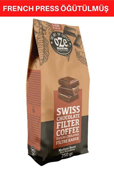 Çikolata Aromalı Filtre Kahve 250 Gr. (french Press Için Öğütülmüş )