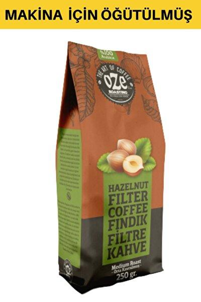 Fındık Aromalı Filtre Kahve 250 Gr. (makina Için Öğütülmüş )