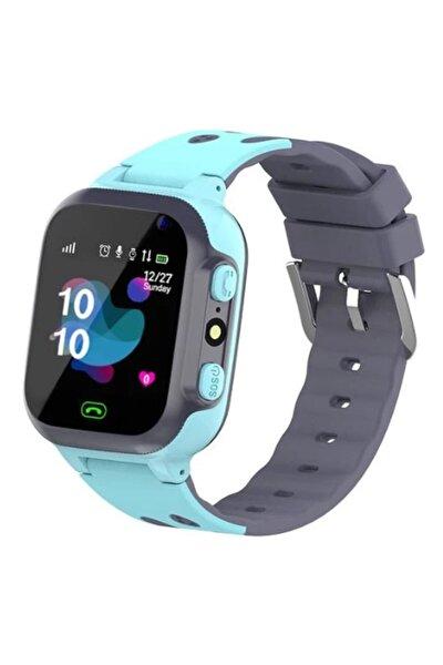 Unisex Çocuk Mavi Z5 Sim Kart Özellikli Akıllı Saat