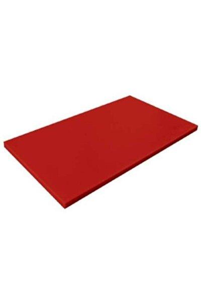 Kırmızı Polietilen Kesim Tahtası 40x60x2 cm