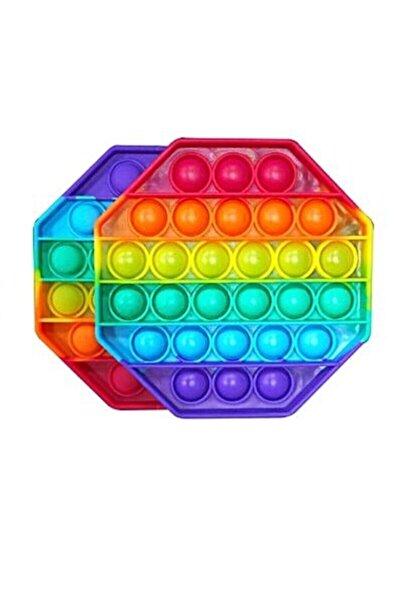 Pop It Push Bubble Fidget Özel Pop Duyusal Oyuncak Zihinsel Stres