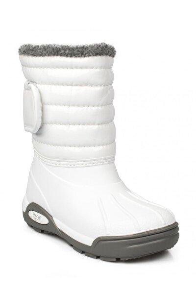 W10168-001 Beyaz Unisex Çocuk Yağmur Çizmesi 100318354