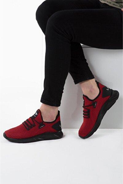 024 Kırmızı Siyah Erkek Spor Ayakkabı