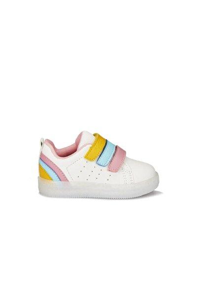 Sun Patik Işıklı Ayakkabı Beyaz/pembe