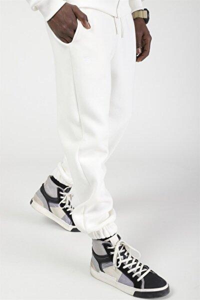 Basic Oversize Eşofman Beyaz