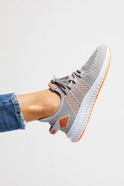 Unısex Buz Oranj Spor Ayakkabı Tbıdl