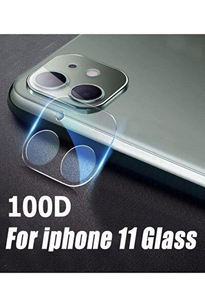 Iphone 11Uyumlu  Arka Kamera Lens Koruma Nano Temperli Camı Kamera Koruma Koruyucu 9h Cam