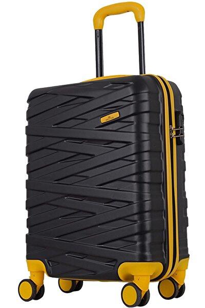 Sarı Unisex Kabin Boy Valiz 1247589006511