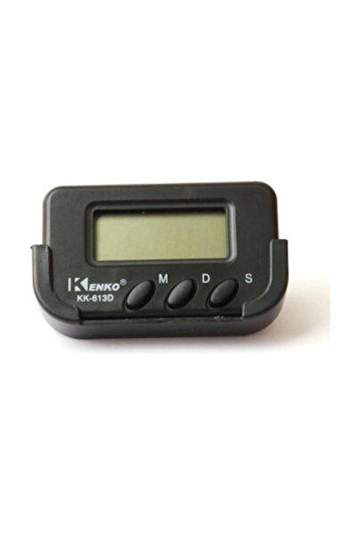 Kk-613d Dijital Küçük Masa-araba Saati-alarm-kronometre
