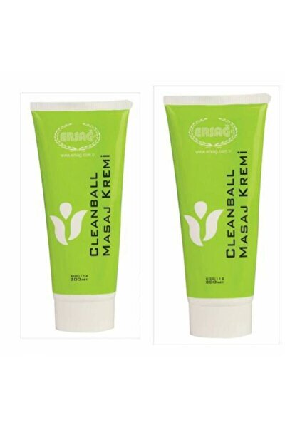 Cleanball Masaj Kremi 2adet 200 ml X2