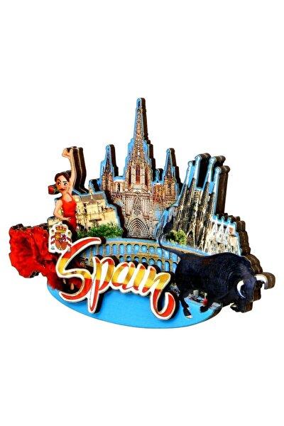 Buzdolabı Magneti Avrupa Şehirleri Ispanya