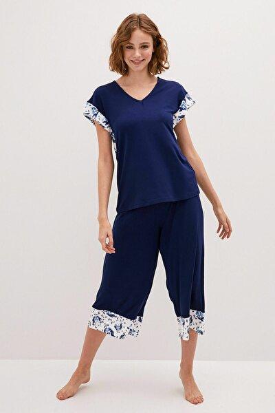 Kadın Açık Lacivert LCW DREAM Pijama Takım