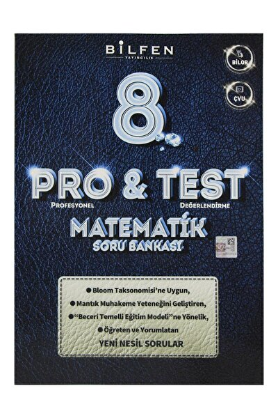 8. Sınıf Lgs Pro & Test Matematik Soru Bankası Yeni 2020