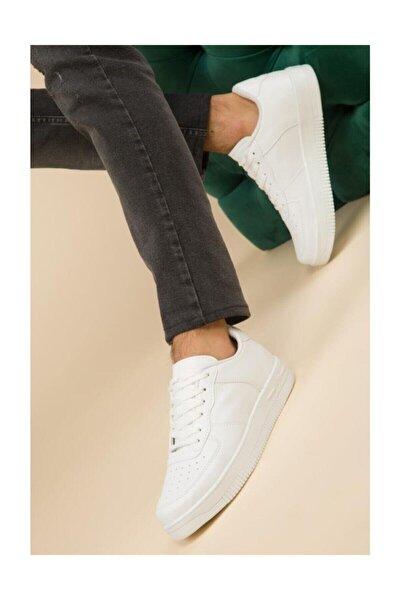 Unisex Beyaz Spor Ayakkabı Günlük Sneakers