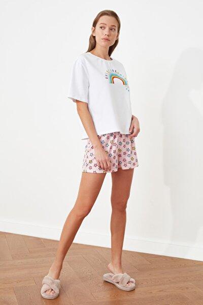 Baskılı Örme Pijama Takımı THMSS21PT0601