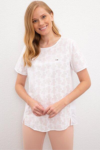 Beyaz Kadın Gömlek